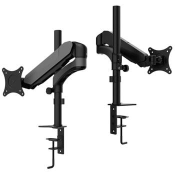 Стойка за монитор MSI MAG MT81, за маса, VESA до 100 x 100mm, макс. тегло до 8кг., регулируема, черна image