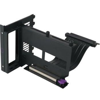Универсален брекет Cooler Master GPU holder V2 и кабел за вертикален монтаж за видео карта image