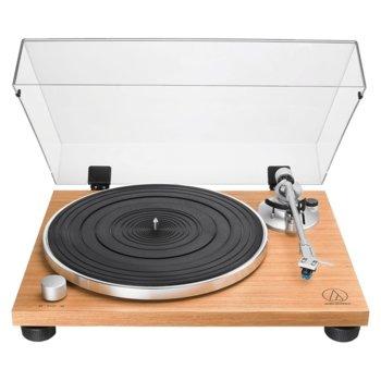 Грамофон Audio-Technica AT-LPW30TK,ръчно управление, ремъчно задвижване, 33/45 оборота в минута, 2x RCA, дърво image