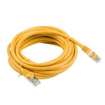 Пач кабел Lanberg PCF5-10CC-1000-O, FTP, cat.5e, 10м, оранжев image