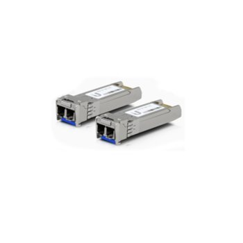 SFP модул Ubiquiti UF-SM-10G, 2x LC интерфейс, до 10km, single-mode image