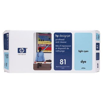 ГЛАВА HP DesingnJet 5000/5000PS - Light cyan head + kit - P№ C4954A - заб.: 680ml  image