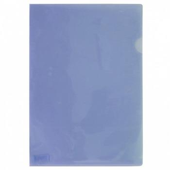 Джоб Office Point, L-oбразен, за документи с формат до А4, син, продава се в опаковка от 100бр. image