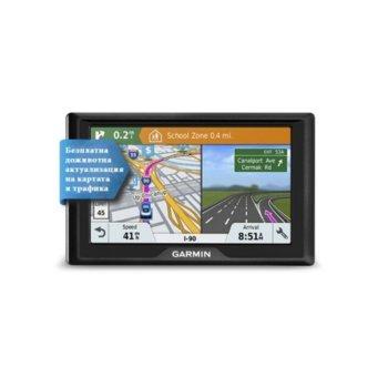 """Навигация за автомобил Garmin Drive 61 LMT-S EU, 6.1""""(15.4 cm) WVGA мултитъч дисплей, microSD слот, карта на цяла Европа image"""