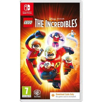 Игра за конзола LEGO The Incredibles - Code in a Box, за Nintendo Switch image