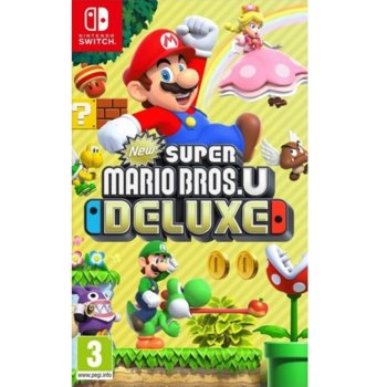 Игра за конзола New Super Mario Bros. U Deluxe, за Nintendo Switch image