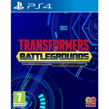 Игра за конзола TRANSFORMERS: BATTLEGROUNDS, за PS4 image
