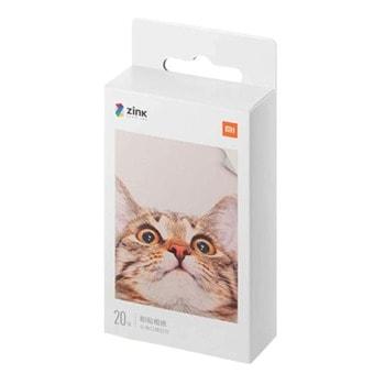 Фотохартия Xiaomi Mi Portable Photo Printer Paper, 2 x 3 inch, 20 листа, за Xiaomi Mi Portable Photo Printer image