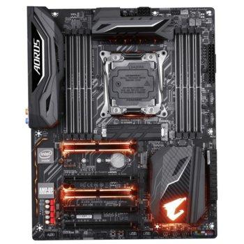 Дънна платка Gigabyte X299 Aorus Gaming 3 PRO, X299, LGA2066, DDR4, PCI-E(CF&SLi), 8x SATA 6Gb/s, 1x M.2 sockets, 6 x USB 3.1 Gen 1, ATX image