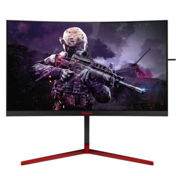 """Монитор AOC AG273QCG, 27"""" (68.6 cm) TN панел, QHD, 1ms, 50000000:1, 400 cd/m2, HDMI, DisplayPort image"""