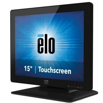 """Монитор Elo E738607 ET1523L-2UWA-1-BL-MT-ZB-G, 15"""" (38.10 cm) TN тъч панел, XGA, 16 ms, 215 cd/m2, DVI, VGA image"""