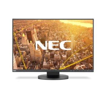 """Монитор NEC EA231WU Black, 22.5"""" (57.15 cm) IPS панел, WUXGA, 5ms, 25000:1, 250 cd/m2, HDMI, Display Port, VGA, DVI-D, USB image"""