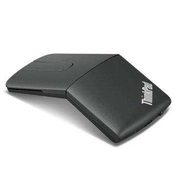 Мишка Lenovo ThinkPad X1 Presenter, оптична, 1000 dpi, безжична, Bluetooth, черна image