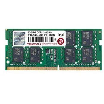 Памет 8GB DDR4 2400MHz, Transcend, SO-DIMM 2Rx8, 1.2V image