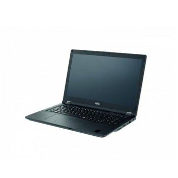 """Лаптоп Fujitsu LIFEBOOK E5510 (S26391-K500-V100_256_I5_N), четириядрен Comet Lake Intel Core i5-10210U 1.6/4.2 GHz, 15.6"""" (39.62 cm) Full HD LED IPS Anti-Glare Display, (HDMI), 8GB DDR4, 256GB SSD, 1x USB 3.2 Type-C, No OS image"""