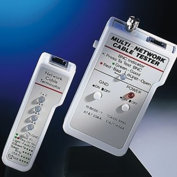 Тестер за кабели и LAN мрежи, Network Cable Tester, 10Base-T, AT&T 258A, EIA/TIA 568 и Token Rin окабеляване image