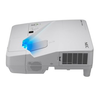 Проектор NEC UM301W, 3LCD, 3D Ready, WXGA (1280 x 800), 4,000:1, 3000 lm, 2x HDMI, 2x USB Type A, USB Type B, RJ-45, VGA, RS-232 image