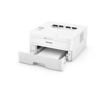 Лазерен принтер Ricoh SP 230DNW, монохромен, 2400 x 600 dpi, 30 стр/мин, LAN, Wi-Fi, A4, 64MB DRAM, USB image