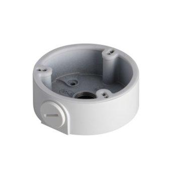 Разпределителна кутия водоустойчива Dahua PFA135, алуминий, 90 х 33.7mm., до 1кг товар, за външен монтаж на булет камери, бяла image