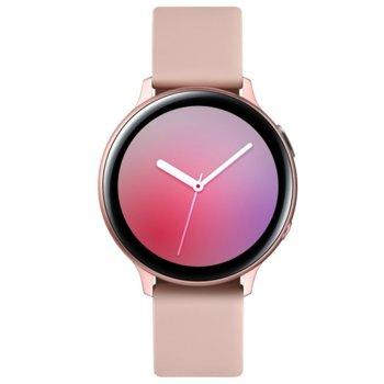 "Смарт часовник Samsung Galaxy Active 2 R820 (SM-R820GLD), 1.4"" Super AMOLED дисплей, Bluetooth v5.0, NFC, Wi-Fi, IP68, розово-златист image"