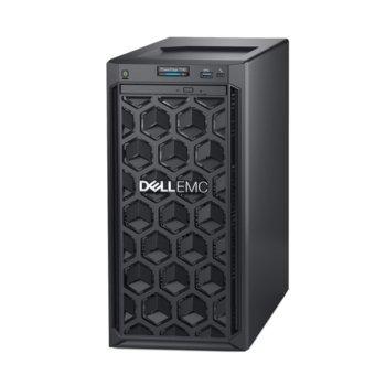 Сървър Dell PowerEdge T140 (#DELL02516_1), шестядрен Coffee Lake Intel Xeon E-2146G 3.5/4.5 GHz, 8GB UDIMM DDR4, 2x 1000GB HDD, 1GbE, 3x USB 3.0, без ОС  image