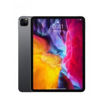 """Таблет Apple iPad Pro (2nd Generation)(MXE42HC/A)(сив), 4G/LTE, 11"""" (27.94 cm) Liquid Retina дисплей, осемядрен Apple A12Z Bionic, 6GB RAM, 256GB Flash памет, 12.0 + 10.0 MPix & 7.0 MPix камера, iPad OS, 473g image"""