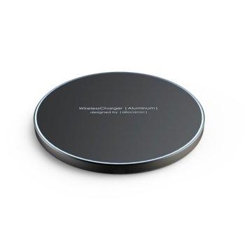 Безжично зярядно Allocacoc WirelessCharger 11023BK, Micro USB, 5V, 2A, Quick Charging, черно image