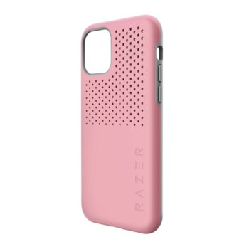 Калъф за Apple iPhone 11, хибриден, Razer Arctech Pro Quartz RC21-0145PQ07-R3M1, удароустойчив, розов image