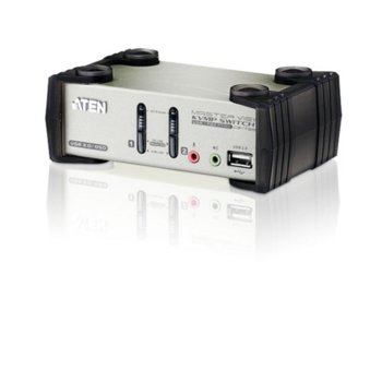 KVM суич ATEN CS1732B, 2-Port USB, 2.1 surround sound audio image