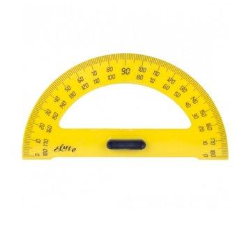 Транспортир за бяла дъска, жълт, 40 см. image