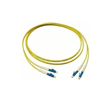 Оптичен пач кабел, LC/UPC(м) към LC/UPC(м), 9/125, сингъл мод, 1m image