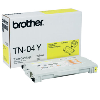Тонер касета за Brother HL 2700CN/MFC-9420CN, Yellow - TN04Y, заб.: 6600 брой копия image