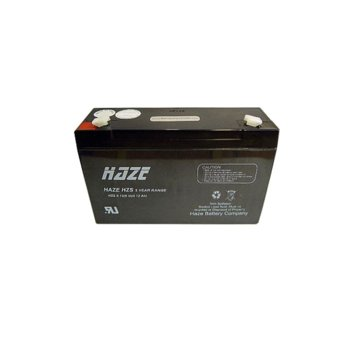 Акумулаторна батерия Haze (HZS6-12), 6V, 12Ah, AGM image