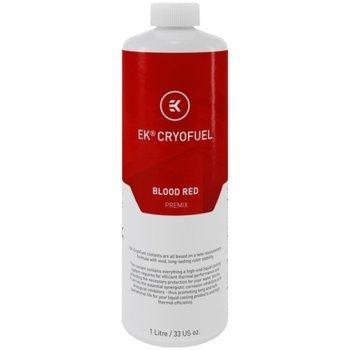 Течност за водно охлаждане Ekwb EK-CryoFuel Blood Red Premix, 1000ml, червена image