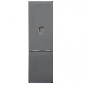 Хладилник с фризер Heinner HC-V286SWDF+, клас F, 286 л. общ обем, свободностоящ, 280 kWh/годишно, Less Frost технология, LED светлина, механично управление с регулируем термостат, сребрист image
