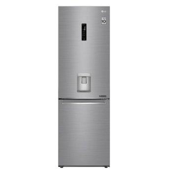 Хладилник с фризер LG GBF71PZDMN, клас A++, 336 л. общ обем, свободностоящ, 273 kWh/годишно, инокс image