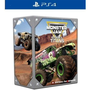 Игра за конзола Monster Jam Steel Titans - Collector's Edition, за PS4 image