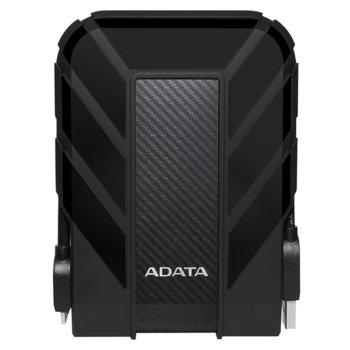 """Твърд диск 2TB A-Data HD710 Pro (черен), външен, 2.5"""" (6.35 см), USB 3.0 image"""