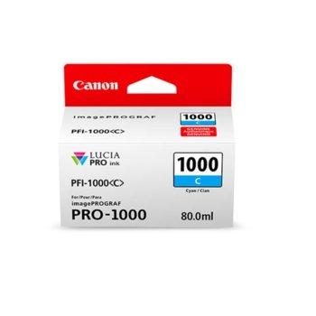 Canon PFI-1000 (0547C001AA) Cyan product