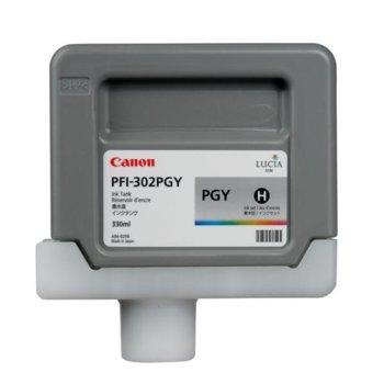 Мастило за Canon iPF8100 and iPF9100 - Photo Grey - PFI-302 - P№ 2218B001 - 330ml image