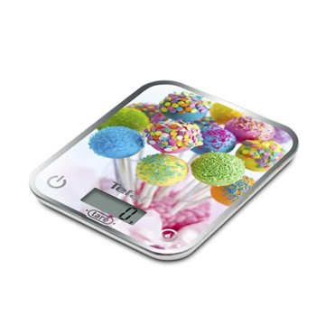 Кухненски кантар Tefal BC5121V0, дигитален, до 5 кг, точност до 1гр, LCD дисплей, функция за измерване на течности, бял image
