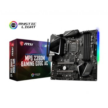 MSI MPG Z390M GAMING EDGE AC product