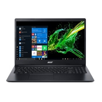 "Лаптоп Acer Aspire 3 A315-22 (NX.HE8EX.013), двуядрен AMD A4-9120e 1.5/2.20 GHz, 15.6"" (39.62 cm) HD Anti-Glare Display, (HDMI), 4GB DDR4, 256GB SSD, 1x USB 3.1, No OS image"