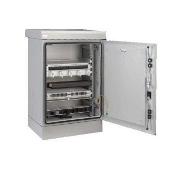 """Комуникационен шкаф Security Professionals MR.IP66Y606012U.03, 19"""", 12U, 600 x 600 x 740, външен монтаж, IP66 защита, филтри при вентилацията, LED осветление, опция за подгряваща система и климатик, сив image"""