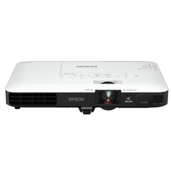 Проектор Epson EB-1795F, 3LCD, Ultra mobile, Full HD (1920 x 1080), 10 000:1, 3 200lm, VGA, HDMI, NFC, Wireless LAN, бял image