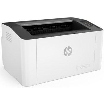 Лазерен принтер HP Laser 107w, монохромен, 1200 x 1200 dpi, 20 стр/мин, Wi-Fi, USB, A4 image