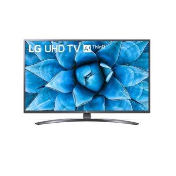 """Телевизор LG 65UN74003LB, 65"""" (165.1 cm) 4K/UHD HDR Smart TV, DVB-T2/C/S2, Wi-Fi, LAN, Bluetooth, 3x HDMI, 2x USB image"""