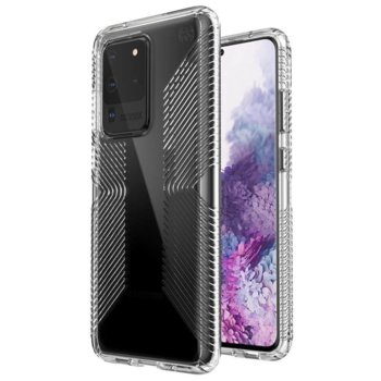 Калъф за Samsung Galaxy S20 Ultra, хибриден, Speck Presidio Grip 136388-5085, удароустойчив, прозрачен image