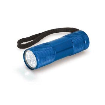 Фенер OEM, 9 LED светлини, син image