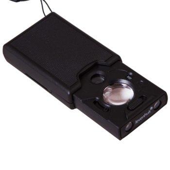 Лупа Levenhuk Zeno Gem M13, 60x увеличение, 2 светодиодни лампи, 3 бр. батерии  image